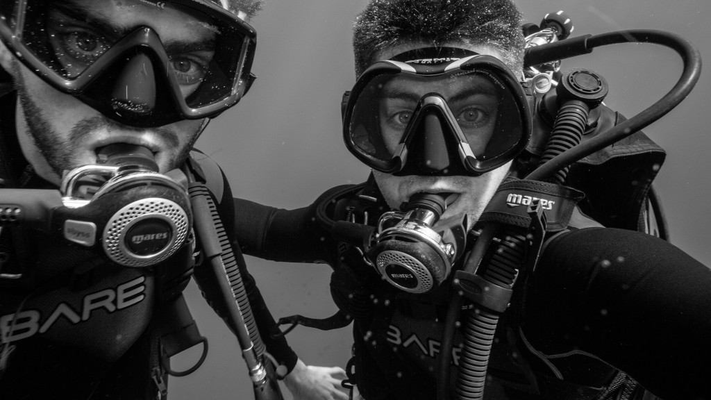 The Water Brothers - Diving Selfie